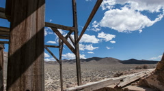 Abandoned Mine Time Lapse Stock Footage