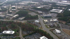 Research Triangle Park Stock Footage