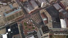Durham aerial Stock Footage