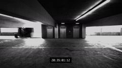 Crime Surveillance Footage Stock Footage