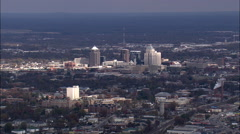 Greensboro aerial Stock Footage