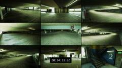 Surveillance Footage Stock Footage
