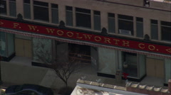 Greensboro Woolworth's Sit-In Location Stock Footage