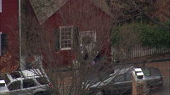 Old Salem Historic Town Stock Footage