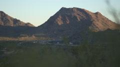 Phoenix Mountain Highway Stock Footage