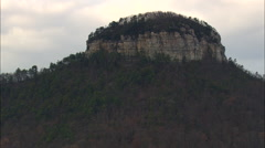 Pilot Mountain Stock Footage