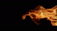 Looping Fire Element Stock Footage