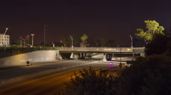 Space Shuttle Crosses the 405 Freeway - stock footage