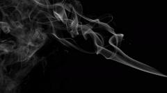 Wispy Smoke Element Stock Footage