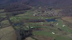 Cliffs At Walnut Cove Golf Club Stock Footage
