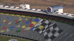 Lowe's Motor Speedway Stock Footage