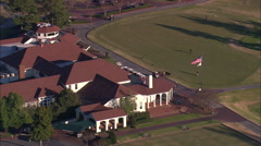 Pinehurst Resort Clubhouse Stock Footage