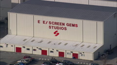 Eue Screen Gems Studios Stock Footage