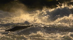 Victoria Falls Slow Motion Stock Footage
