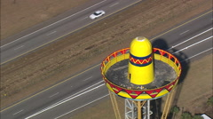 The Sombrero Tower Stock Footage