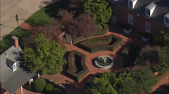 Colonial Style Mansion Stock Footage