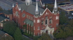 Sacred Heart Cultural Center Stock Footage