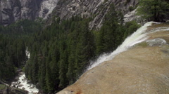 Yosemite Rapids Slow Motion - stock footage