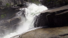 Yosemite Rapids Slow Motion Stock Footage
