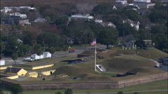 Fort Moultrie Stock Footage
