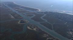 Intracoastal Waterway Stock Footage