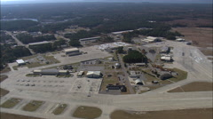 Passing Over Marine Corp Air Station Beaufort Stock Footage