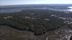 Beaufort aerial Stock Footage