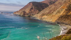 Central Coast of California - stock footage