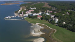 Harbour Town On Hilton Head Island Stock Footage
