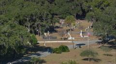Bonaventure Cemetery Stock Footage