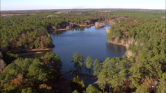 Magnolia Springs State Park Lake Stock Footage
