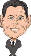 Paul Ryan Senator Republican Stock Illustration