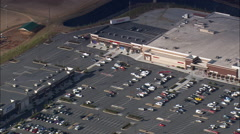 Shopping Malls West Of Kennesaw Stock Footage