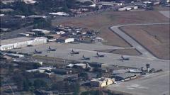 Dobbins Airforce Base - stock footage