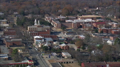 Milledgeville aerial Stock Footage