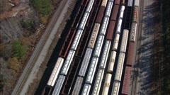 Gordon Marshalling Yard Stock Footage