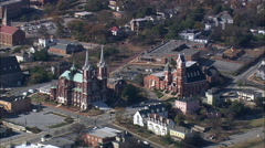 Macon aerial Stock Footage