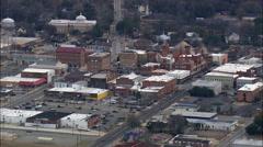Americus aerial Stock Footage