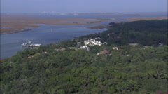 Jekyll Island Club Hotel And Resort Stock Footage