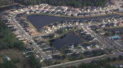 Modern Suburb Of Jacksonville Stock Footage