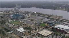 Jacksonville aerial Stock Footage