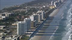 Daytona Beach Shores Stock Footage