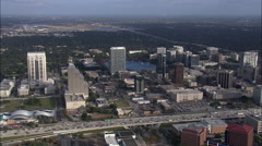 Orlando In Late Afternoon Light Stock Footage