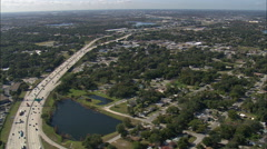 Orlando aerial Stock Footage