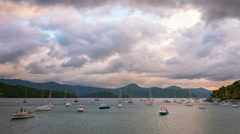 Picton New Zealand Time Lapse Stock Footage