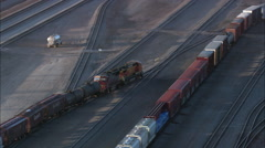 Belen Freight Yard Stock Footage