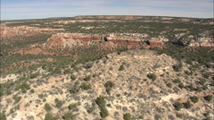 Iron Ore Coloured Escarpment Stock Footage