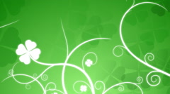 Saint Patricks Day Background Stock Footage