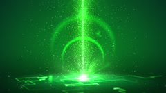 Cyber Swirl Loopable Background - stock footage