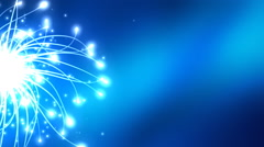 Cyber Data Tentacles Background - stock footage